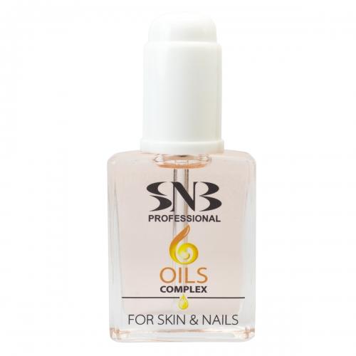 6 olejových komplexů pro pleť a nehty 15 ml
