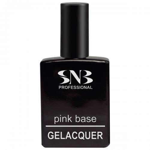 5 ks Růžové báze GELacquer SNB 15 ml + 1 ks Růžové báze GELacquer SNB 15 ml zdarma